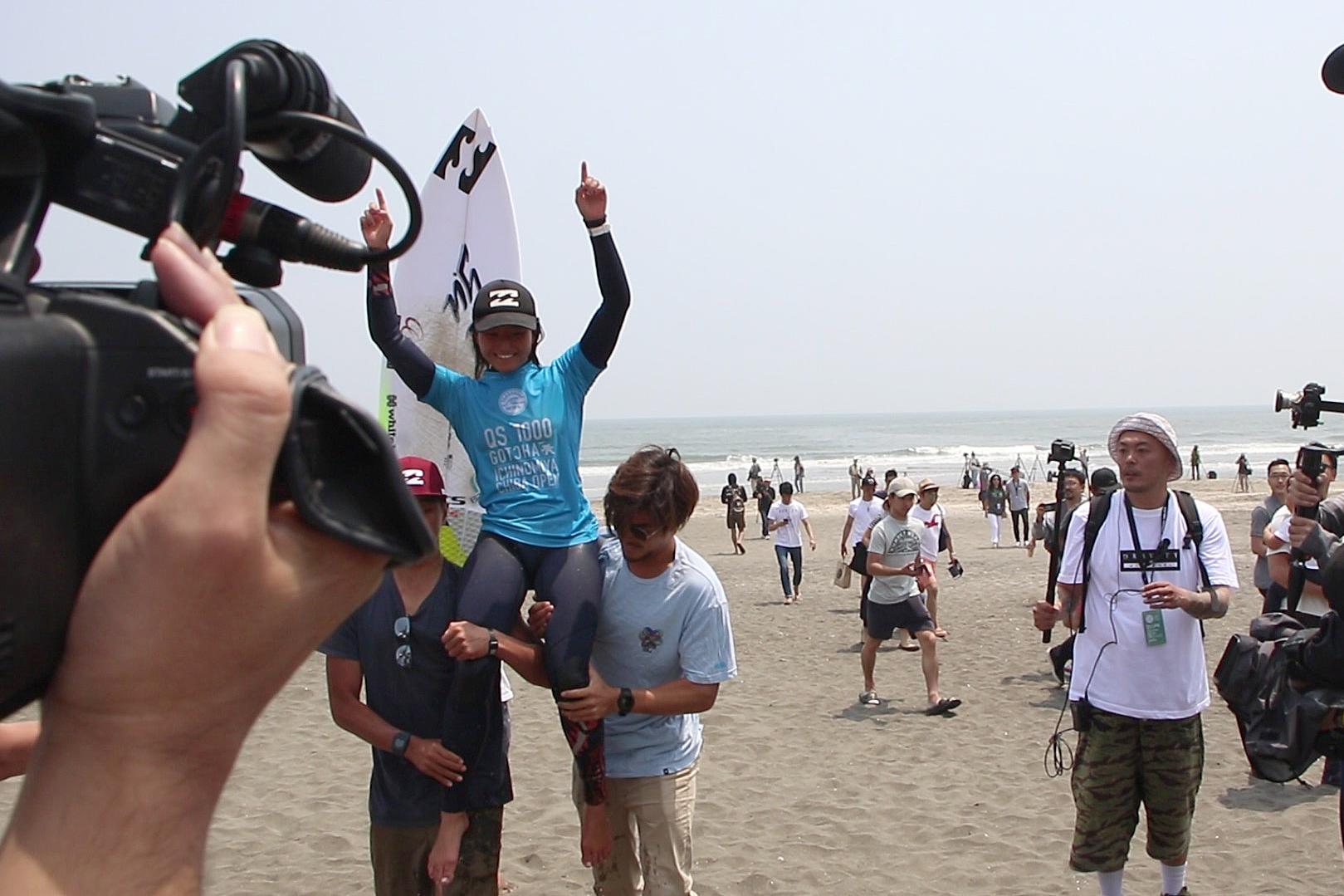 "Shino Matsuda won the title ""Women's QS 1,000 Ichinomiya Chiba Open""! ー「Women's QS 1,000 Ichinomiya Chiba Open」にて松田詩野選手が優勝!"