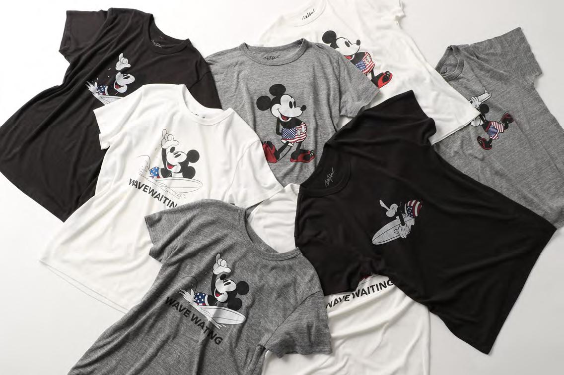 ミッキーマウスもサーフィン♪ 「SURF / MICKEY」アイテムがライフスタイルショップ『WTW』で発売!