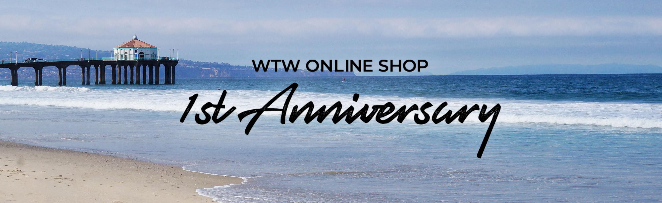 気になる〜!WTWのONLINE SHOP OPEN1周年記念数量限定アイテム☆