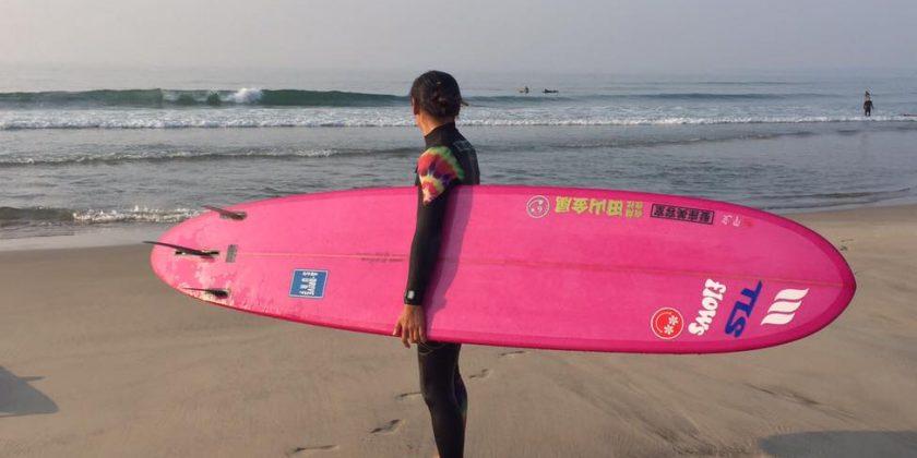 -Before surf & After surf-Yuko Endo from Fukushima