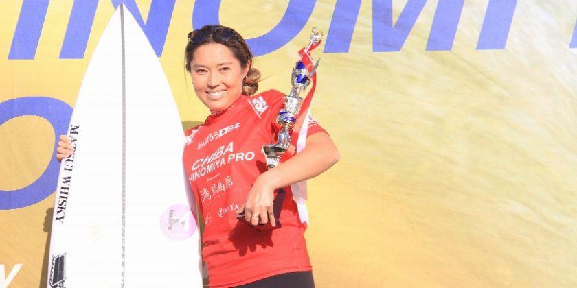 【祝!JPSAショートボード第7戦女子優勝者インタビュー】海女子の皆さんへ野呂玲花ちゃんからの言葉を贈ります☆