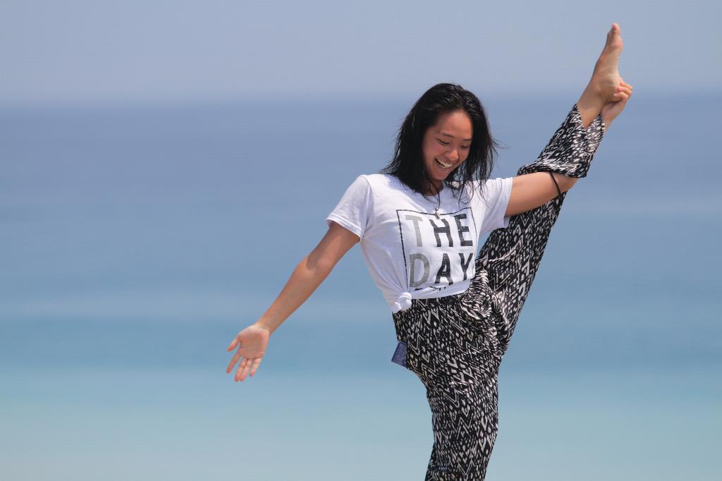 THE DAY-Rioko Miyasaka-Just the way you are.