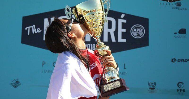 日本人初の快挙!!ボディボードワールドチャンピオン、鈴木彩加さんに接近♡